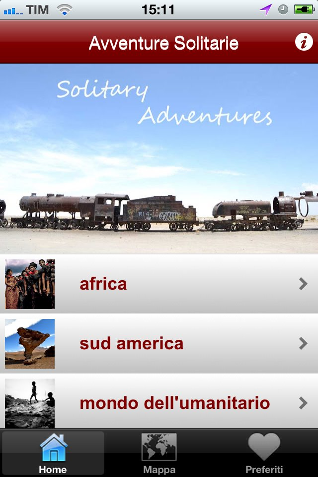 Avventure Solitarie – Da Travel Blog ad App per smart phone!
