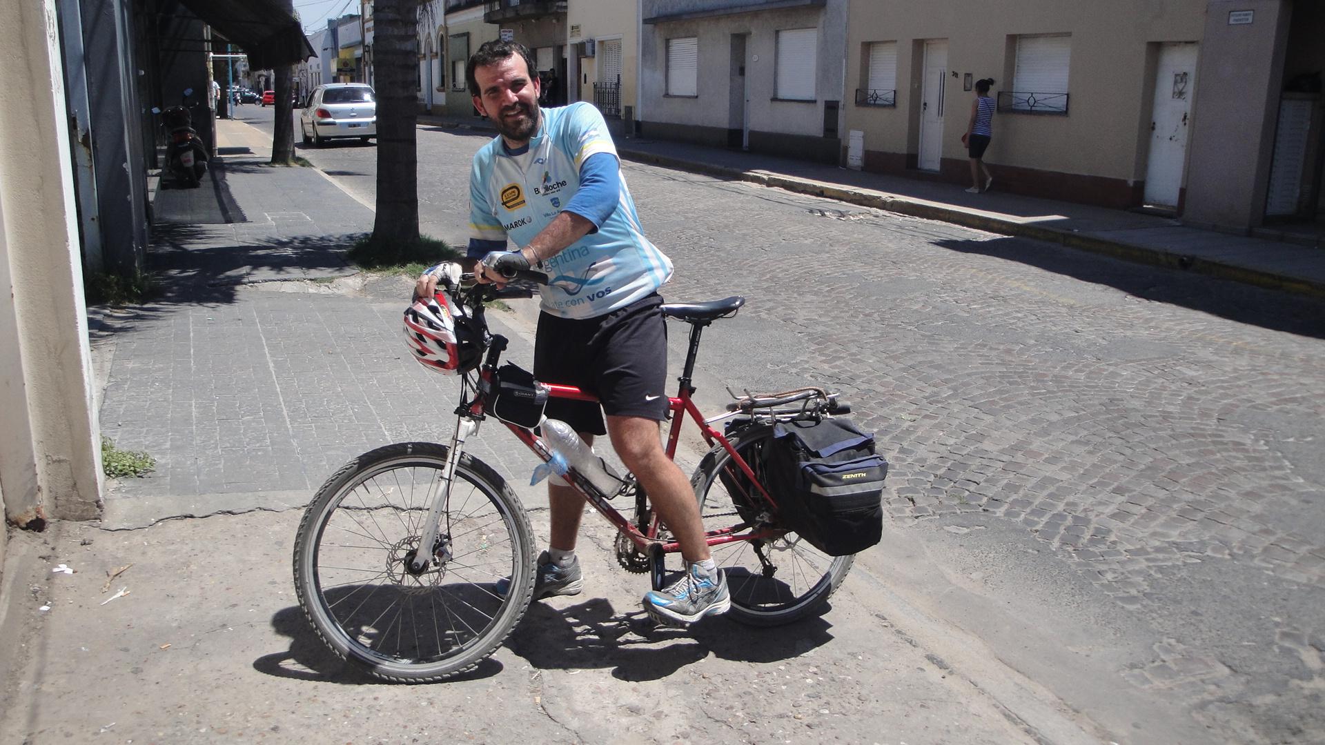 Viaggiare in bicicletta è un viaggio in se stesso