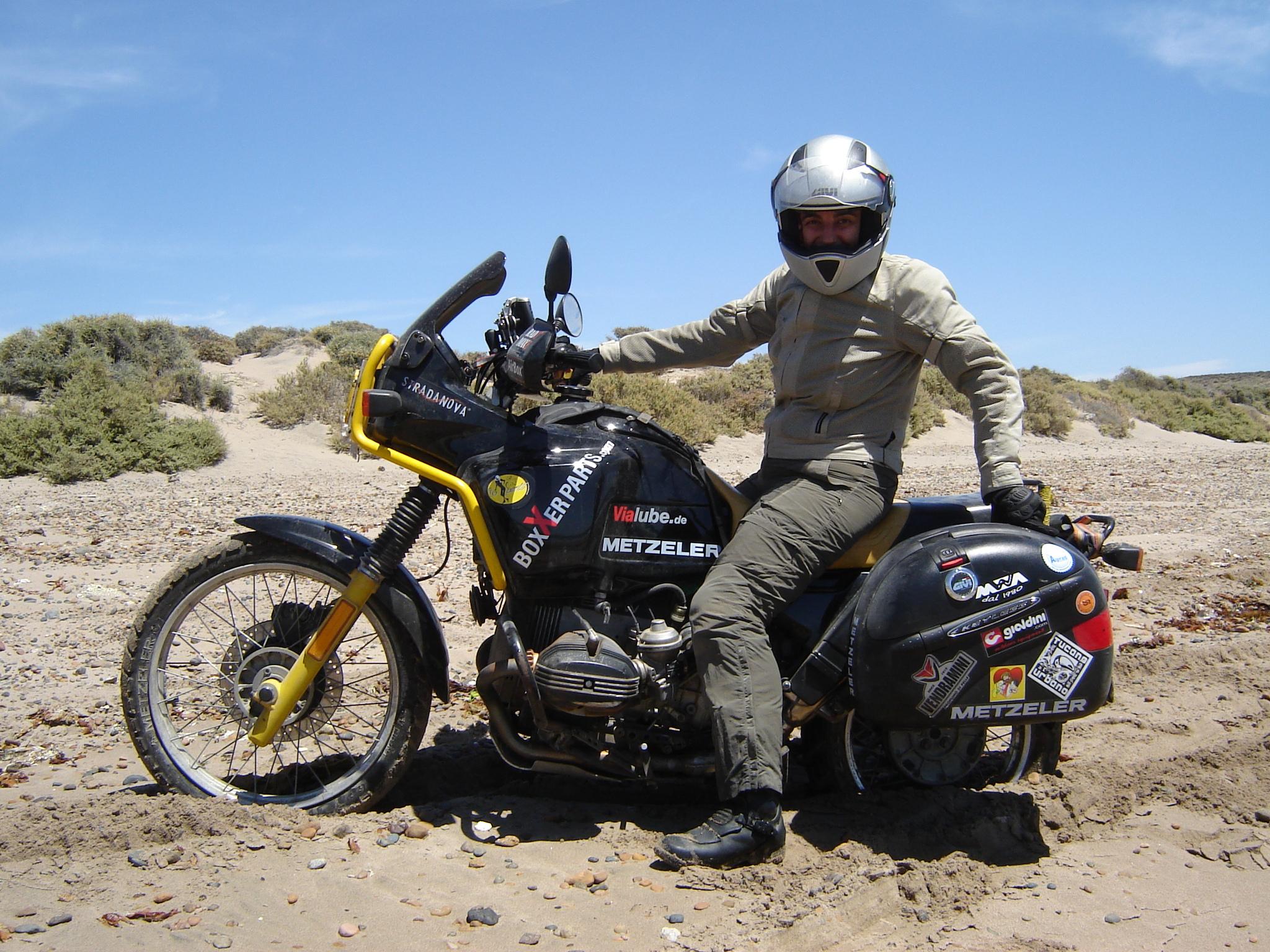 Miriam Orlandi, viaggiare in moto dall'Argentina all'Alaska da sola!