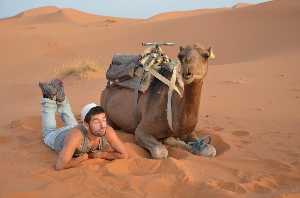 Gabriele Saluci, ciclista per caso fino al Sahara in bicicletta