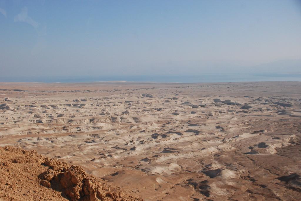 Vista da Masada