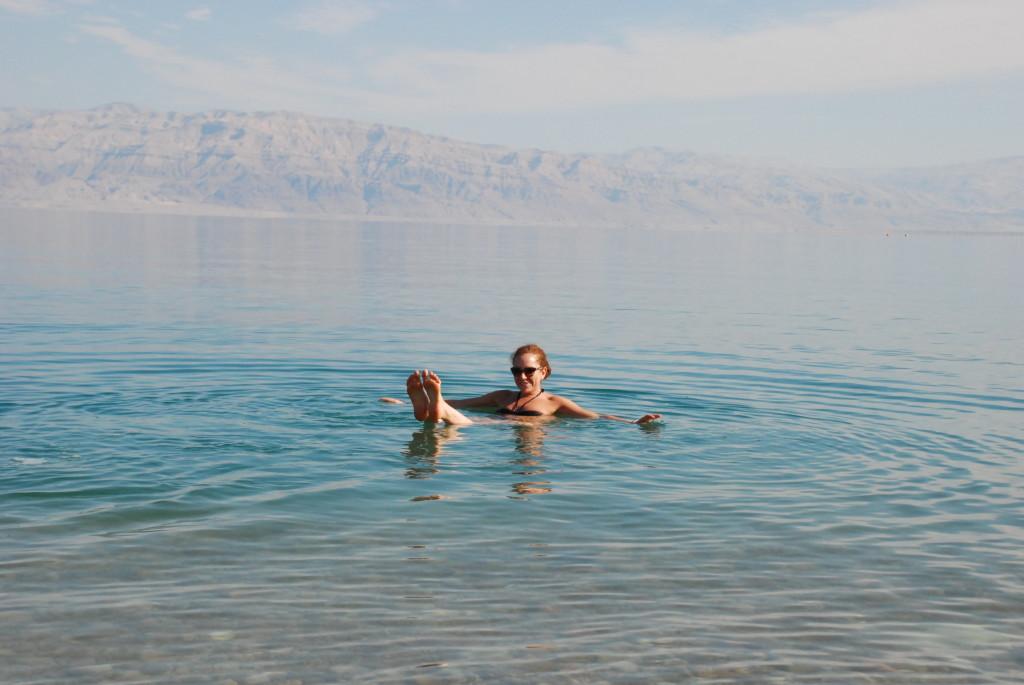 Io al Mar Morto