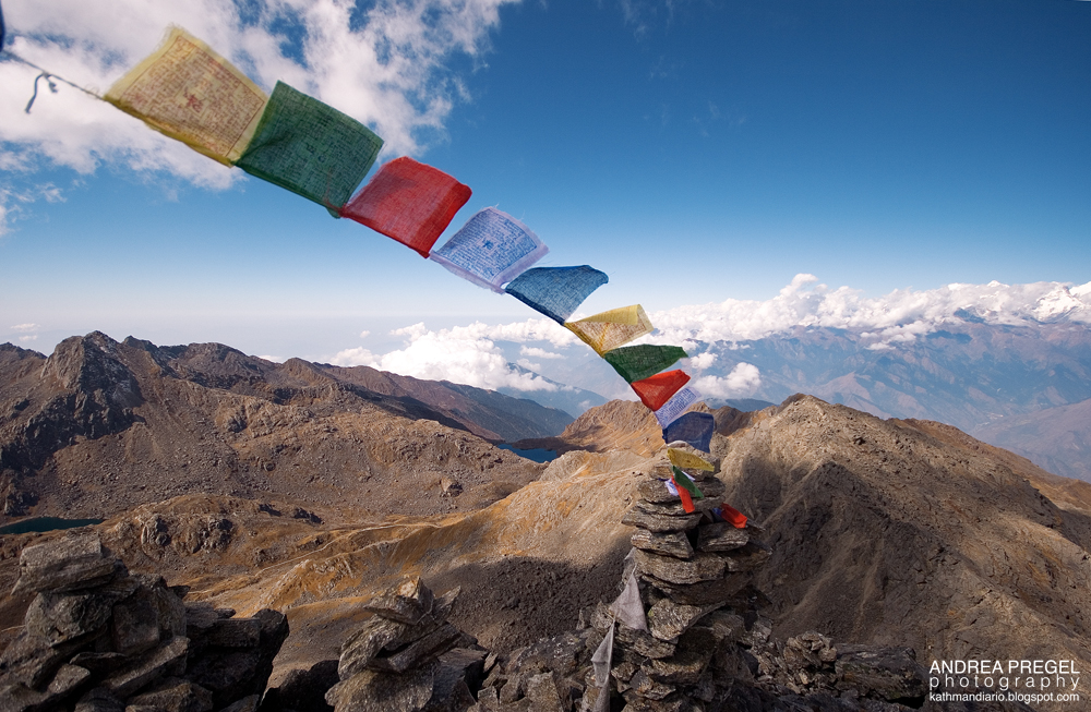 trekkin sull Himalaya