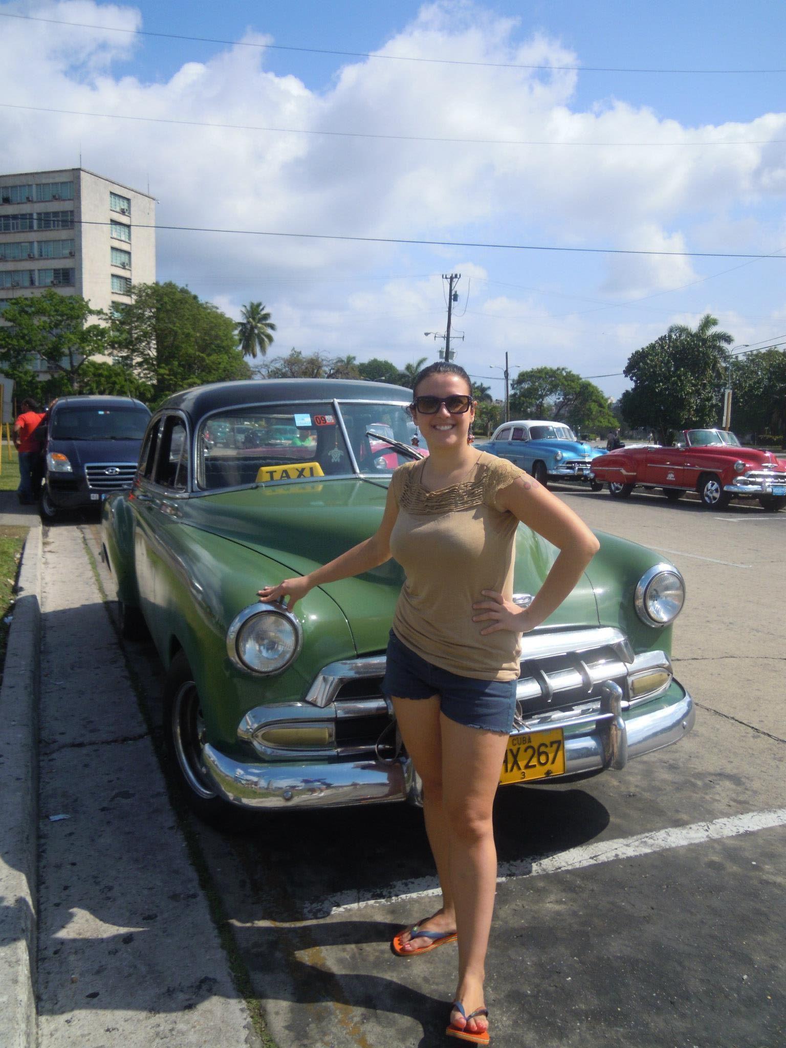 Gisella in Viaggio da sola a Cuba, i compagni li incontri nel cammino.