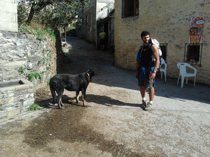 Ernesto e Santi sul Cammino di Santiago