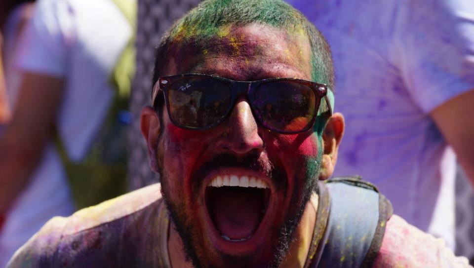 La Festa dei Colori, Holi a Barcellona