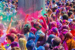 La Festa dei Colori a Barcellona