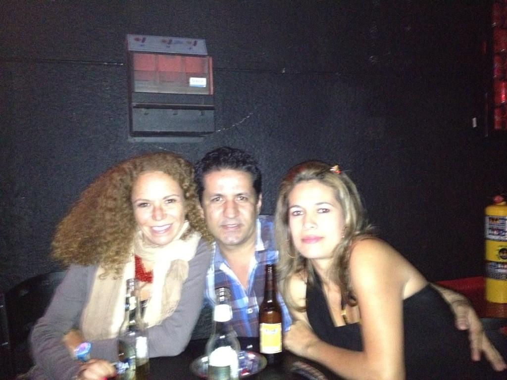 Con i miei couchsurfers a Medellin
