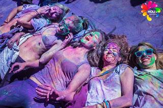 La Festa dei Colori Holi a Barcellona