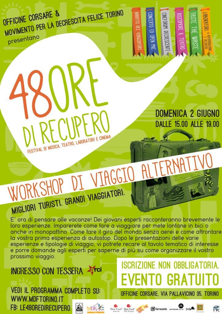 workshop di viaggio alternativo