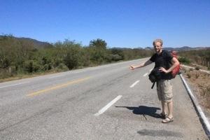 Guillaume, un anno e mezzo in autostop dal Latino America alla Polinesia.