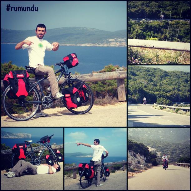 Rumundu giro del mondo in bicicletta