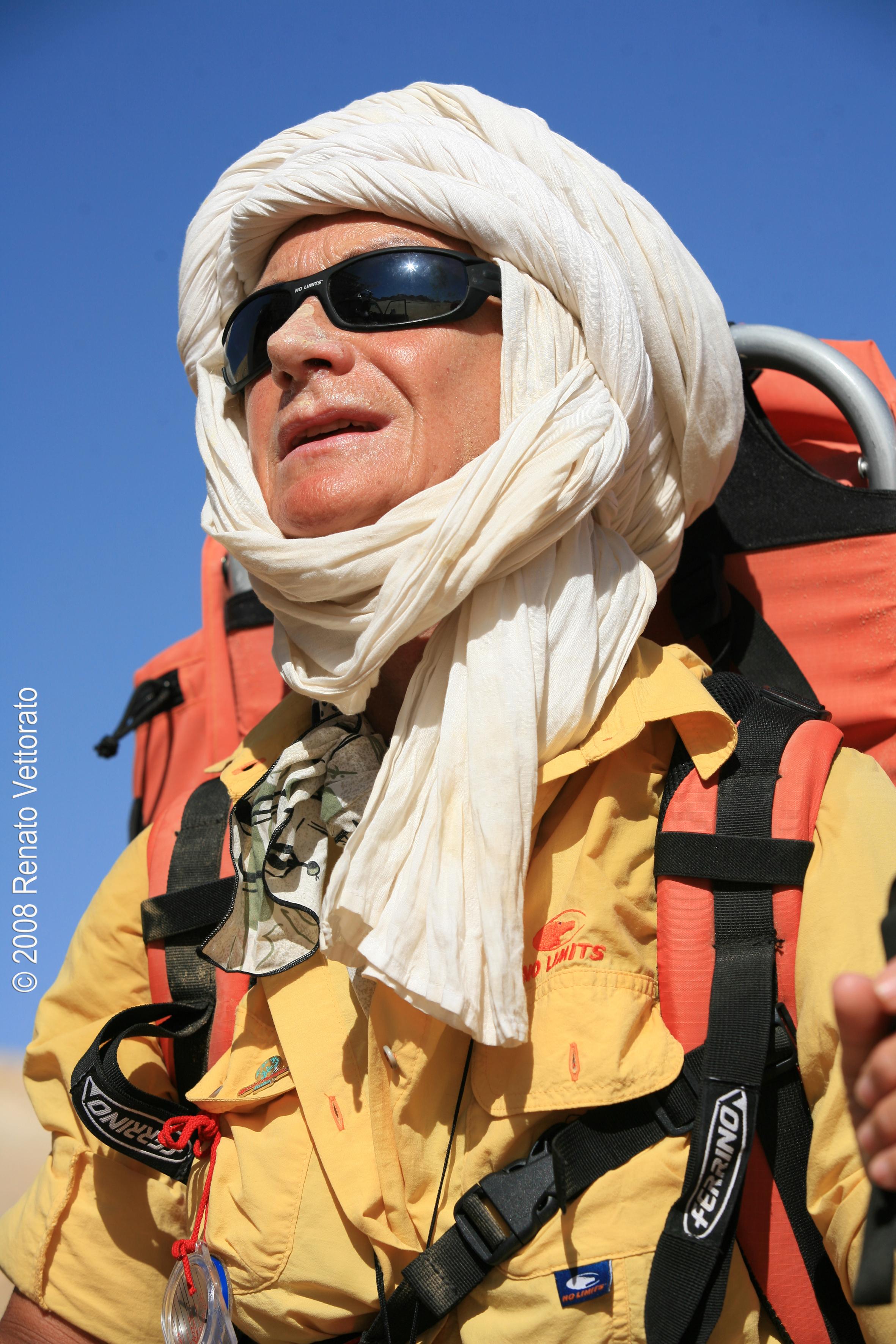 Carla Perrotti, la signora dei deserti
