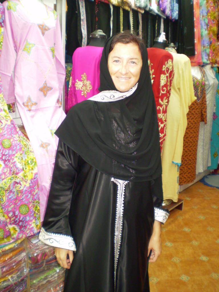 Annamaria in Qatar