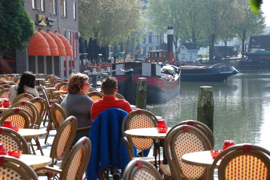 Sul canale di Rotterdam
