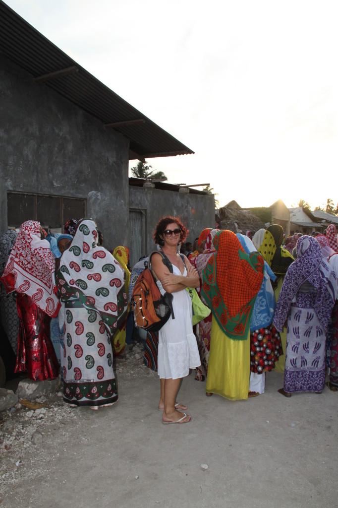 Annamaria a Zanzibar