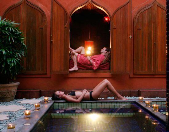 Relaxing Prana Spa
