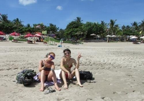 Io e Vale a Bali