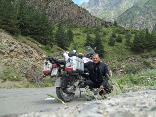 9200km in moto da solo tra Caucaso Georgia e Armenia