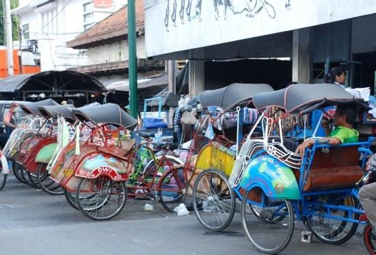 Sulle strade di Yogyakarta
