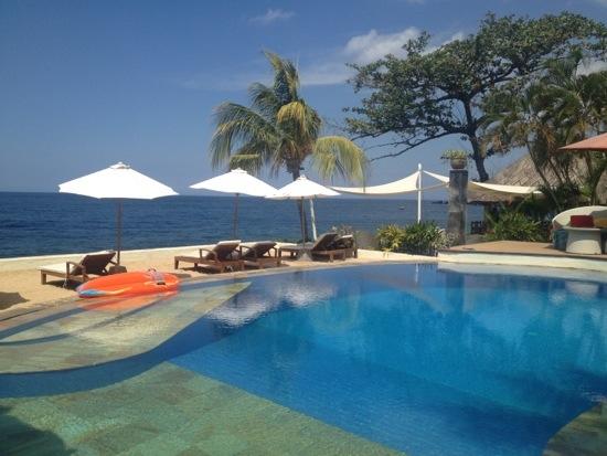 La piscina del Touch Terminal Resort