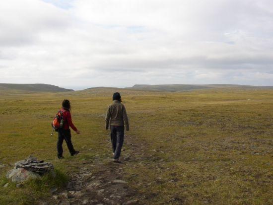 viaggiare da soli a Capo Nord