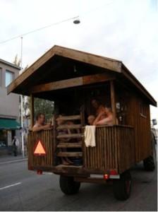 Viaggiare in Finlandia Sauna