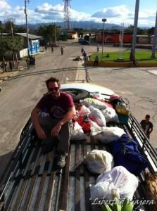 viaggiare in bus in Honduras