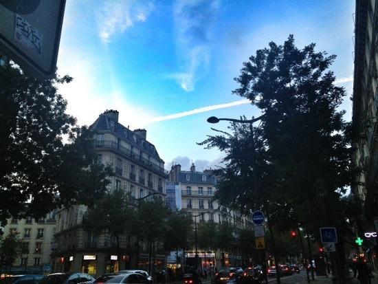 E se fossi andata a vivere a Parigi, dove avrei vissuto..