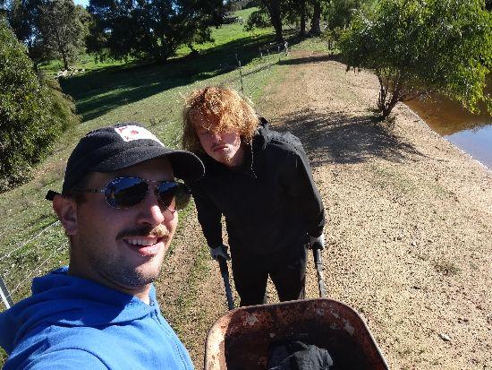 Australia lavorare in una farm