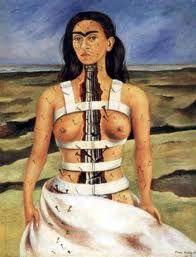 Frida Kalho la colonna spezzata
