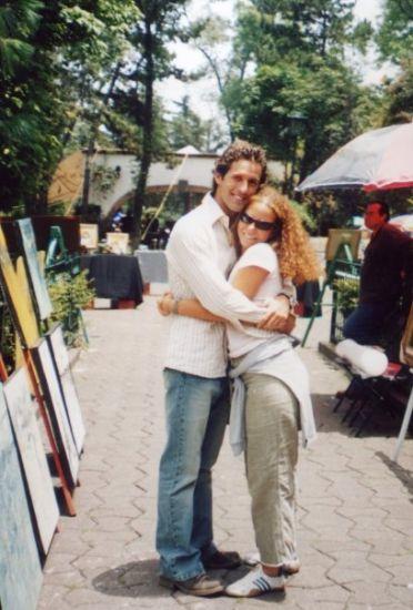 Io e Allan a Città del Messico