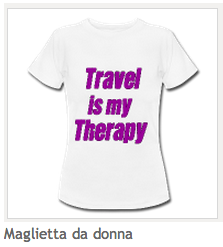 Maglietta donna Travel is My Therapy