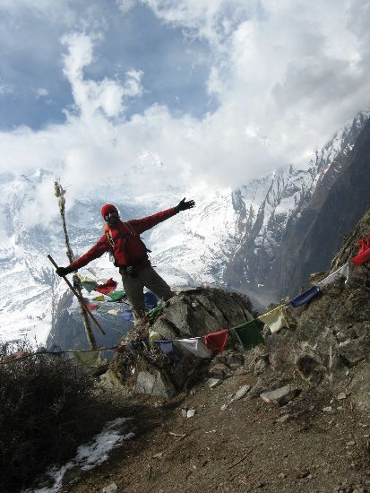 One first pass in Annapurnas - Nepla