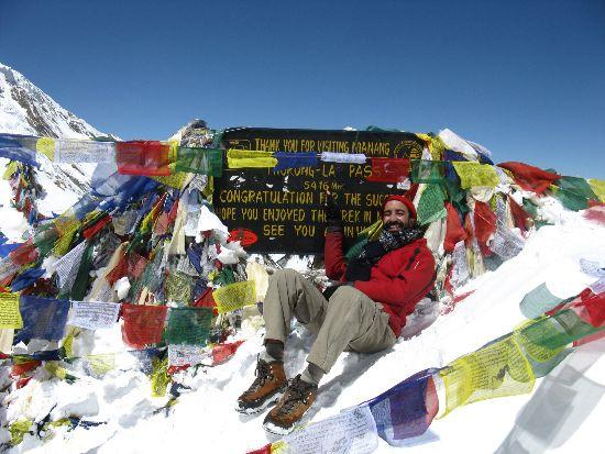 The main pass Annapurnas - Nepal