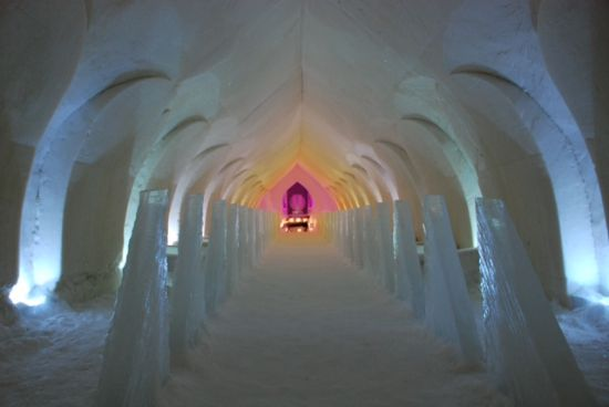 Arctic Snow Hotel – Rovaniemi – Dormire in un hotel di ghiaccio a -5C