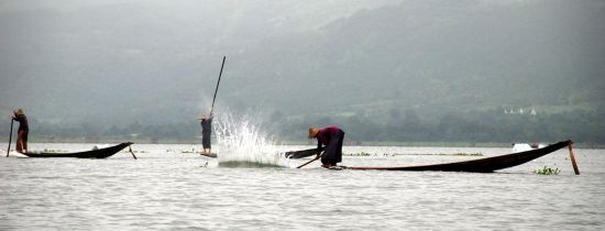 Pescatori sul Lago Inle