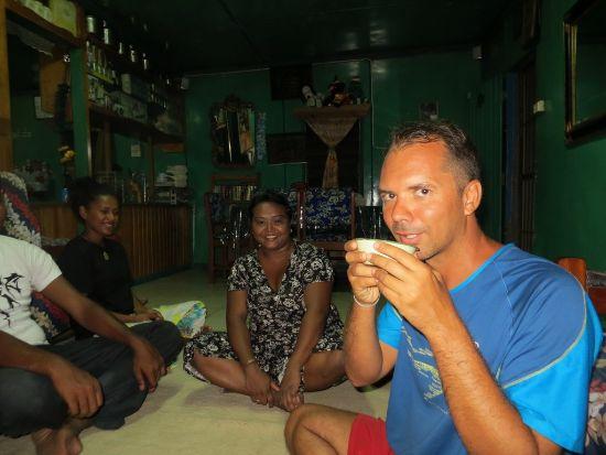 fiji kava drinking