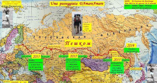 Russia a piedi