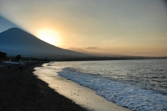 Tramonto ad Amed - Bali