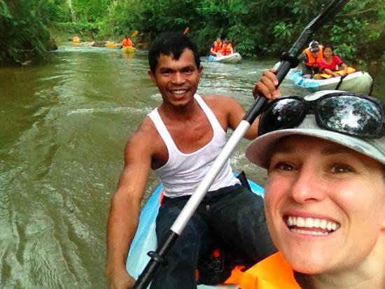 Suzanne e suo marito in Thailandia