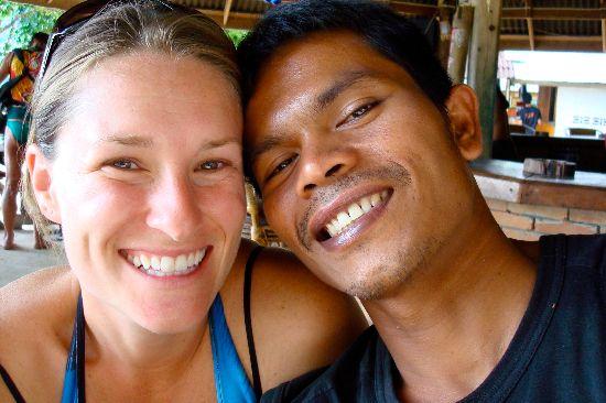 Suzanne e suo marito