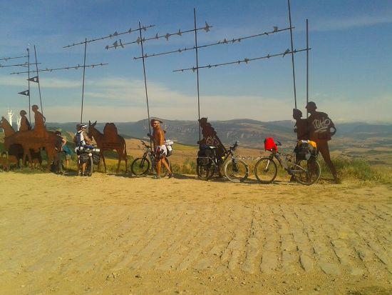 cammino di santiago_in bicicletta
