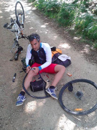 santiago in bicicletta