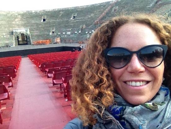 #Selfie nell'arena di Verona