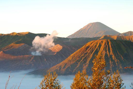Alba sul Bromo - Indonesia