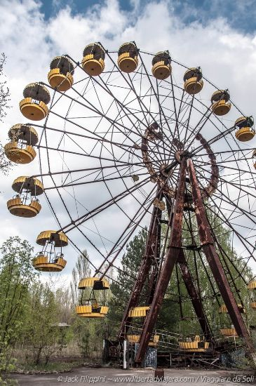 resti di chernobyl