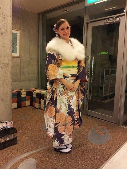 Elisa kimono Kyoto