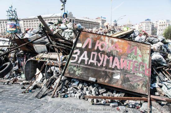 Le due Kiev che convivono