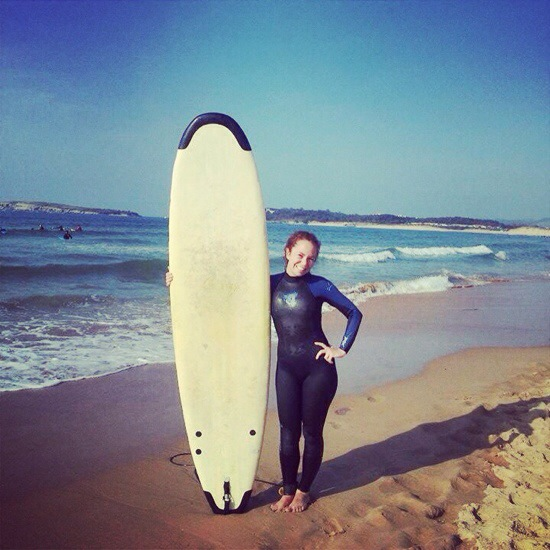 Fare surf e scuola di vela a Santander in Cantabria